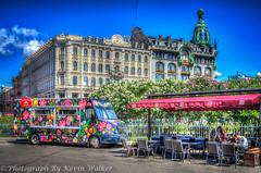 Colourful Food Van (Kev Walker ¦ 8 Million Views..Thank You) Tags: stpetersburg russia hdr 2015 kevinwalker