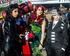 MCM CC OCT 2014-356 (cameraview4u121) Tags: art comiccon cosplay excel london oct 2014 mcm harleyquinn poisonivy canon group catwoman 1855mm costume expo mcmlondon characters mcmcomiccon scifi mcmexpo entertainment fantasy convention cosplayer cosplayers event culture londonmcmexpo pose photography