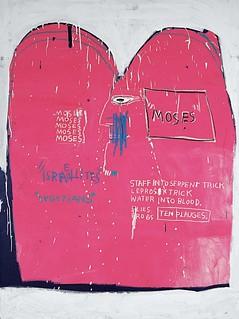 Basquiat_J.M_Moisés y los egipcios_1982 _1982