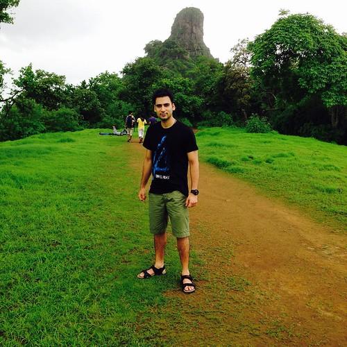a well spend #sunday @karnala #fort #karnala #fort #hiking #full #adventure