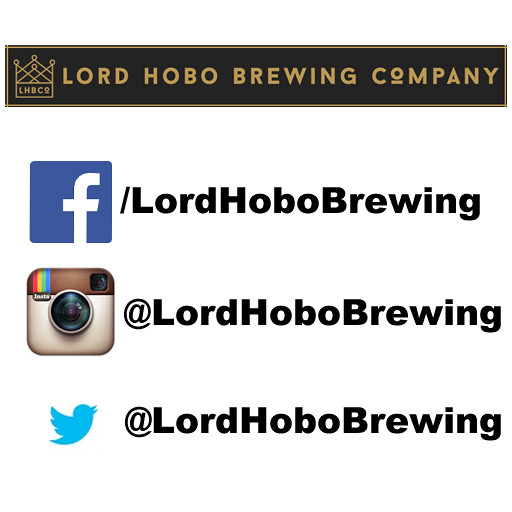 Lord Hobo Brewing Company on Social Media