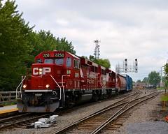 CP 2250 & CP 2276 (Michael Berry Railfan) Tags: train quebec montreal lasalle canadianpacific cp cpr cprail freighttrain emd cp2250 adirondacksub gp20ceco