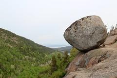 Bubble Rock, Acadia National Park (daveynin) Tags: rocks nps maine boulder trail oddity overlook acadia bubblerock deaftalent top252015runnerups deafoutsidetalent deafoutdoortalent