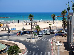 View from our room in Tel Aviv!
