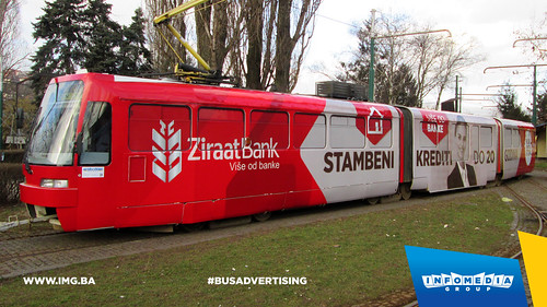 Info Media Group - Ziraat Bank, BUS Outdoor Advertising, Sarajevo 03-2015 (1)