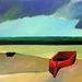 Marinha Autor: Aldemir Martins Ano:1972 Técnica: óleo sobre tela  Dimensões: 74cm x 107cm