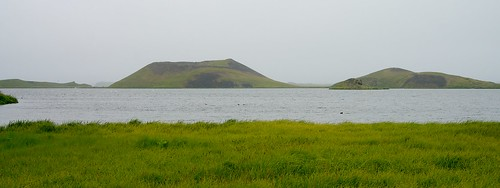 Pseudocraters at Stakholstjorn Lake, Iceland - DSC00368