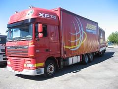 DAF XF 105.460 (Vehicle Tim) Tags: daf xf truck fahrzeug lkw pritsche
