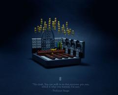 08 - Snape Victorious (Melan-E) Tags: harry potter half blood prince magical journey rowling snape hogwarts lego afol torolug