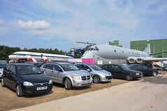 15th August 2010 Manchester Airport (rob  68) Tags: raf hawker siddeley nimrod mr2 xv231 kinloss mr wing the manchester viewing park 15th august 2010 airport bea british european airways hs121 hs 121 trident 3b 3 b gawzk runway ba heathrow tug training