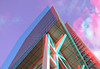 Gebouw 555 Blaak Rotterdam 3D (wim hoppenbrouwers) Tags: gebouw555 blaak rotterdam3d anaglyph stereo redcyan building555