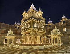 Udai Bilas Palace, Dungarpur, India (swissukue) Tags: dungarpur india nightshot lights diwali udaibilaspalace rajasthan architecture