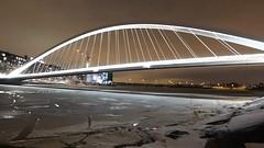 Isoisänsilta 2 (neppanen) Tags: sampen discounterintelligence helsinginkilometritehdas helsinki suomi finland päiväno96 reittino96 päivä96 reitti96 isoisänsilta silta bridge mustikkamaa kalasatama