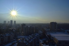 My view now. (d_dobreff) Tags: nikon d3300 landscape photography citi town urban district capital neighbourhood living place view streets infrastructure direct sunlight sun outdoor sky skyline afternoon sofia bulgaria europe