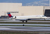 Delta Connection (SkyWest Airlines) Bombardier CRJ-900LR N810SK (jbp274) Tags: lax klax airport airplanes cloudy bombardier crj deltaconnection skywest oo