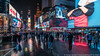 Wet Times Square (20170114-DSC01544) (Michael.Lee.Pics.NYC) Tags: newyork timessquare wet reflection advertising billboards video desplays crowd rain snow winter sony a7rm2 fe1635mmf4