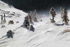 Backcountry Storm (david schweitzer) Tags: bigmountain freeride ski descent cheakamus 2284m 7160ft glacierfed crater lake cold pacificcoastmountains britishcolumbia canada snowscape landscape mountains outdoor whistler blackcomb sport adventure nature skiing snowboarding storm backcountry trees alpine wilderness pristine davidschweitzer
