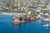 Helicopter ride - Torshavn's Parliament (Photocedric) Tags: faroe danmark torshavn islands water denmark city september sea iles helicopter island dk ocean europe feroe danemark nólsoy faroeislands fo