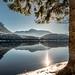 Altausseer See (Bernd Thaller) Tags: landscape lake altaussee salzkammergut austria österreich altausseersee gegenlicht backlight sun starburst mountains water snow sky