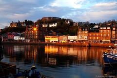 sunset (ceccheriniandrea) Tags: sunset scotland scozia oban highlands bay baia porto tramonto holiday relax happiness