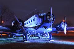 Junkers JU 52 Lufthansa D-ANOY @ MUC/EDDM 2016-12-09 (airbus-a340) Tags: junkers ju 52 lufthansa danoy muceddm 20161209 besucherpark münchen flughafen tante muc eddm munich airport boeing airbus spotter classic airliner lockheed constellation l1049 douglas dc3 preserved aircraft airfield aviation plane