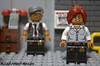 The Gordons (WattyBricks) Tags: lego batman movie gotham commissioner jim gordon barbara batgirl 71017