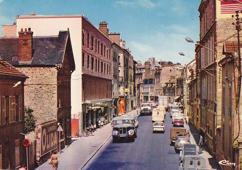 Postcard St Ouen l'Aumone (95) Rue du Gal Leclerc Ed. CIM