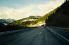 Mountain Highway No.2 (dorianborovac) Tags: austria alps highway trees road hills forest sky mountains clouds roadtrip shadow nikon d5100 winter snow