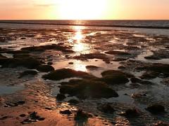 Sunset at the North Sea (libra1054) Tags: sonnenuntergang sunset tramonto pôrdosol coucherdusoleil puestadelsol nordsee northsea mardonorte merdunord mardelnorte maredelnord neuharlingersiel outdoor