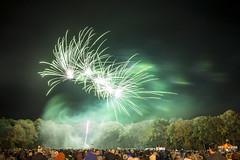 20170104_F0001: Smoky green fireworks explosions (wfxue) Tags: night fireworks explosion light bright trails lighttrails green smoke people crowd longexposure