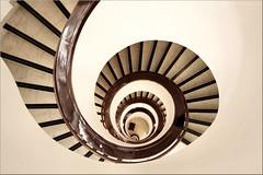 vertigo  #2 (Bernergieu) Tags: helsinki stairs geometry architecture staircase