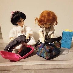 We're all getting ready. (Dollheimr) Tags: ifttt instagram bjd resindoll instadoll collectable stilllifephotography dollfashion arttoy
