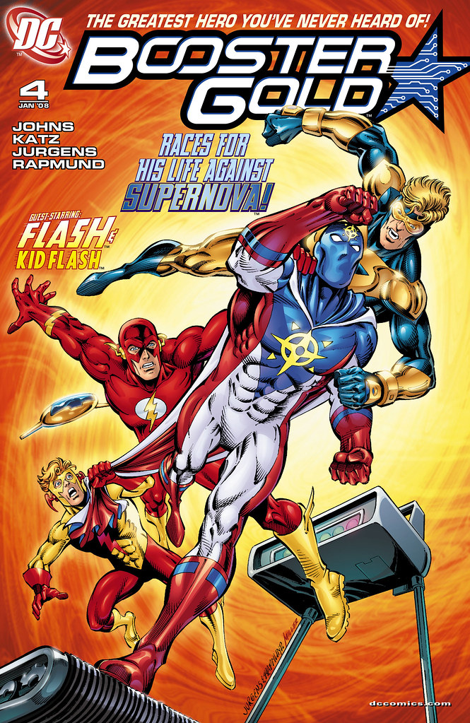 Booster Gold (2007) #4