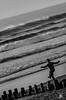MimizanPlage@130416-3490 (NicoP.Photography) Tags: france nouvelleaquitaine landes gascogne mimizanplage mimizan plage océan sea mer beach vague wave noiretblanc monochrome nikond7000