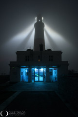 Lighthouse in the Fog (www.ollietaylorphotography.com) Tags: astrophotography beacon beams dorset dorsetlandscape dorsetseamist eerie england fog ghostship ghostly landscape lighthouse lighthouseatnight mist moonrise nautical nightphotography nightsky portland seafog seamist seascape sky stargazing travel tuition uk weymouth weymouthandportland