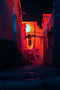 CORNICHE DES SOUPIRES (Jonathan Laval) Tags: marseille rue street night nuit light lumiere orange rose pink blue provence sud color corniche kennedy jfk mer sea