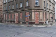 Leipzig (duesentrieb) Tags: architecture architektur cityscape deutschland germany haus house leipzig sachsen saxony stadtlandschaft walled zugemauert gebäude building