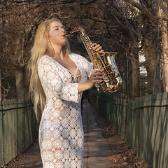 May in winter-4 (jonathan charles photo) Tags: may saxophone classical jazz musician playing outdoor beauty winter portrait art photo konathan charles jonathan topf100