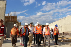 Alejandro Murat supervisa avance en construcción del CCCO
