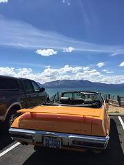 As you can see, 1970 GTO, beautifully restored! (Schnauzergal) Tags: classiccar vintagecar restored pontiac iphone 1970gto