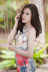 Chelsea - BG - 008 (jasonlcs2008) Tags: woman sexy girl beautiful fashion lady wonderful pose nice model singapore chelsea photoshoot modeling outdoor good sunny tight botanicgarden poses 2015 jasonlcs