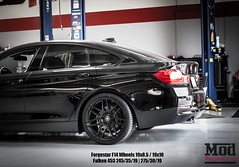F36 BMW 428I GRANCOUPE (ModBargains) Tags: black br bc f14 painted wheels performance racing bmw series kidney grilles coilovers reflectors agressive forgestar trackready modbargains modauto