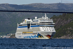 AIDAsol (18) (Christoffer Andersen) Tags: germany bergen cruiser aida cruiseships byfjorden passengerships aidacruises carnivalgroup portofbergen aidasol
