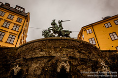 Gamla Stan - The Old Town In Stockholm, Sweden