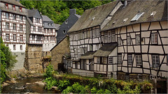 Half-timbered houses in Monschau (Foto Martien) Tags: