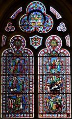 Senlis (Oise) - Cathdrale Notre-Dame - Vitrail (Morio60) Tags: notredame cathdrale vitrail 60 picardie vitraux senlis oise