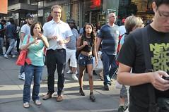Times Square Fourth of July (zaxouzo) Tags: nyc people public fashion nikon day candid timessquare july4 nikond90