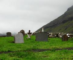 Old cemetery (Jaedde & Sis) Tags: cemetery froyar saksun unanimous challengefactorywinner thechallengefactory herowinner faroeislalands