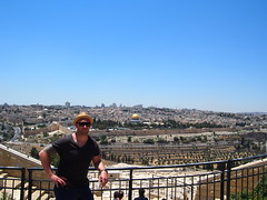 A sunny day in Jerusalem with great views over The old city in The background!