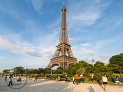 Paris June 2015 (7) 223 - Saturday night at the Eiffel Tower (Mark Schofield @ JB Schofield) Tags: street people paris france tower french ride roundabout saturday carousel eiffel stgermain